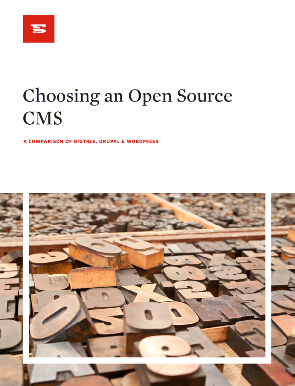 Choosing an Open Source CMS: A Comparison of BigTree, Drupal & WordPress
